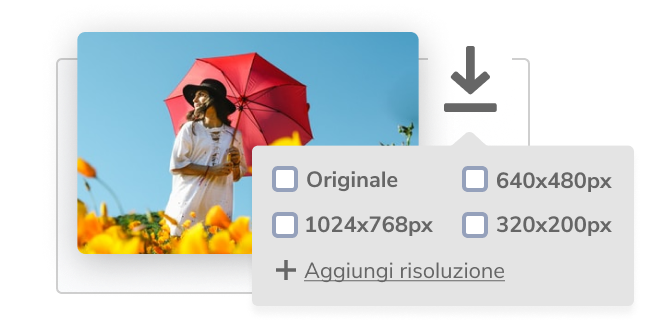 Download in the correct format