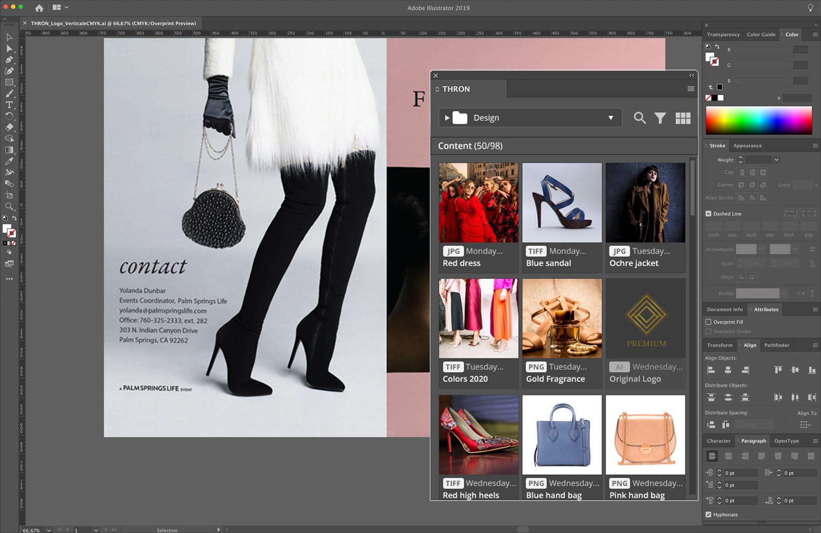 adobe illustrator indesign catalog