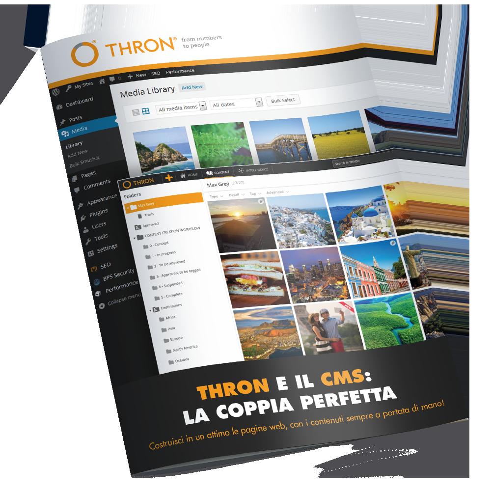 THRON e il CMS ebook gratuito